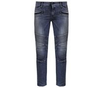 BIKER Jeans Slim Fit blue