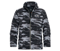 LOGBOOK WAVE Winterjacke black