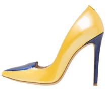 ISTANBUL High Heel Pumps gelb/blau