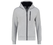 TURBO MAKAO Sweatjacke grey chine