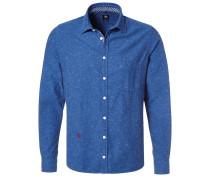 TAILORED FIT Hemd blau