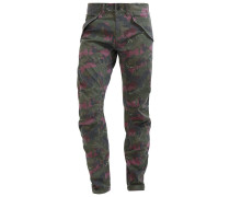 ROVIC DC 3D TAPERED - Stoffhose - oliv