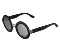 Sonnenbrille satin black