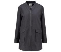 KLARISZA Wollmantel / klassischer Mantel dark grey melange