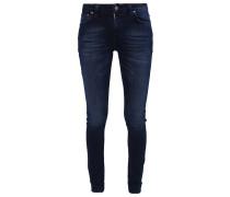 LIN Jeans Skinny Fit blackend indigo