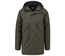 Parka uniform green