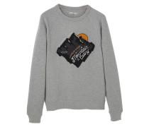 CALLING Sweatshirt light heather grey