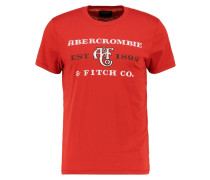 SITEBUSTER - T-Shirt print - red