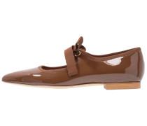 JOHN - Klassische Ballerina - truffle brown