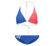 Bikini blue/red