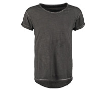 BUSTED CLEAN - T-Shirt print - washed black