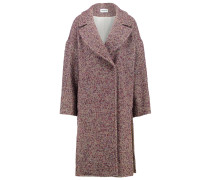 Wollmantel / klassischer Mantel rot