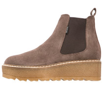 Plateaustiefelette taupe