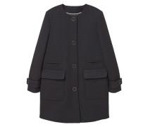 GALLO Wollmantel / klassischer Mantel black