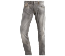 Jeans Relaxed Fit grey/beige