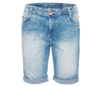 LINA Jeans Shorts light blue denim