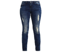 JRFIVE K Jeans Slim Fit dark blue denim