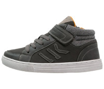 PUNCH HOLE Sneaker high charcoal/light grey
