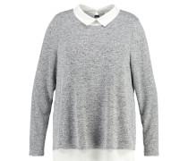 JRNEW ENKA Strickpullover light grey melange