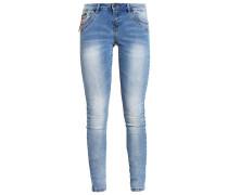 VMFIVE Jeans Slim Fit light blue denim
