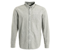 Hemd washed grey