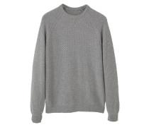 WOOLY - Strickpullover - medium heather grey