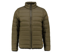 BEAR HEAD Daunenjacke olive