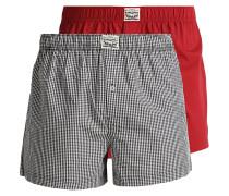2 PACK Boxershorts dark red