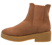 Plateaustiefelette brown