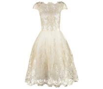 Cocktailkleid / festliches Kleid white/gold