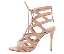 LUX High Heel Sandaletten nude