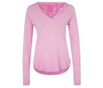 DIVIDE Langarmshirt pink
