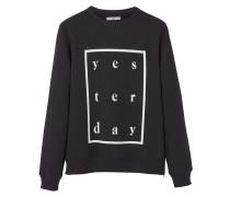 YESTER Sweatshirt black