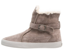 AIRBOOTY Stiefelette dark taupe/light grey