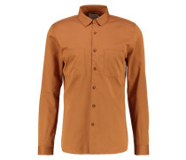 SLIM FIT Businesshemd brown