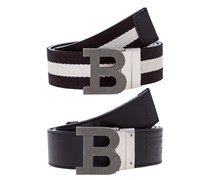 Gürtel black/beige