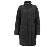 HOFF Wollmantel / klassischer Mantel black melange