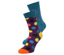 2 PACK - Socken - lila/blau