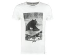 BIG BEAR TShirt print white