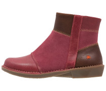 BERGEN Ankle Boot wax rioja