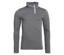 GYM SPORT Langarmshirt grey grit