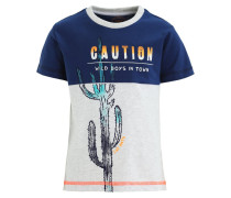 EL GRINGO TShirt print faded denim