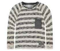 Strickpullover - beige, grey