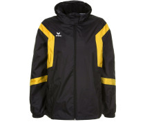 CLASSIC TEAM Regenjacke / wasserabweisende Jacke schwarz/gelb