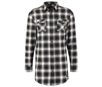 Hemd black/grey