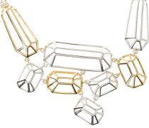 Halskette silvercoloured/light goldcoloured