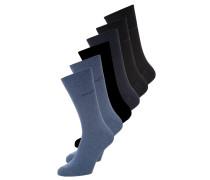 6 PACK - Socken - light denim melange/indigo melange/dark navy