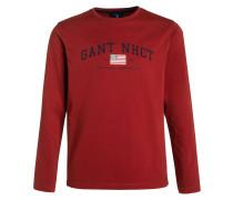 Langarmshirt dark red