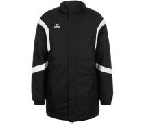 CLASSIC TEAM STADION Wintermantel black/white