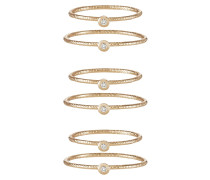 CYVIEL 6 PACK - Ring - gold-coloured